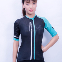 Custom sublimation print short sleeve cycling wear