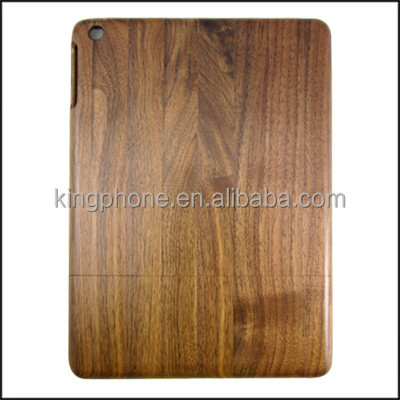 Custom for iPad air wooden case back cover, tablet PC wood case cover
