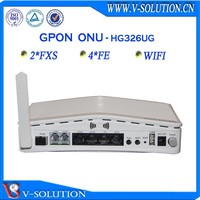 V-solution ftth bcm6838 2fxs voip wifi 4fe gpon ont equipment