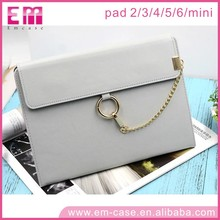 For iPad Handbag Leather Case Clutch For iPad Air / For iPad Mini Leather Bag