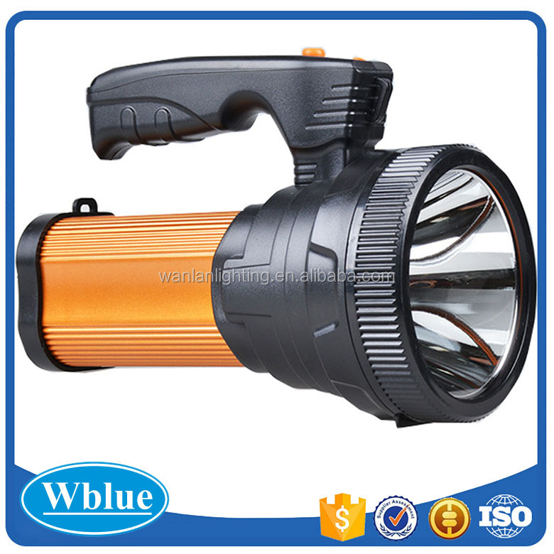 portable searchlight flashlight rechargeable flashlight
