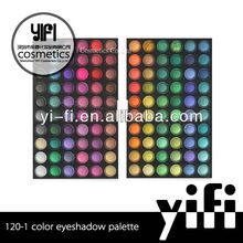 Wholesale!120-1 eyeshadow palette high quality makeup french cosmetics brands