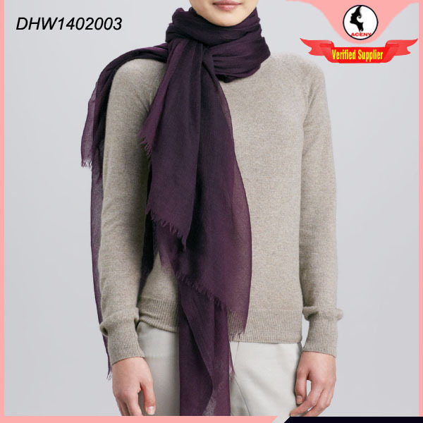 High quality fashion style 100 cashmere scarf