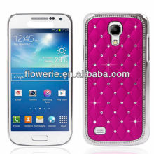 FL3144 2013 Guangzhou high quality plating bling diamond crystal back cover case for samsung galaxy s4 mini i9190