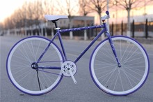 26inch steel frame single speed fixed gear bike