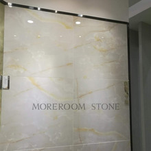 Polished Finished White Marble Look 8x8 Ceramic Floor Tile