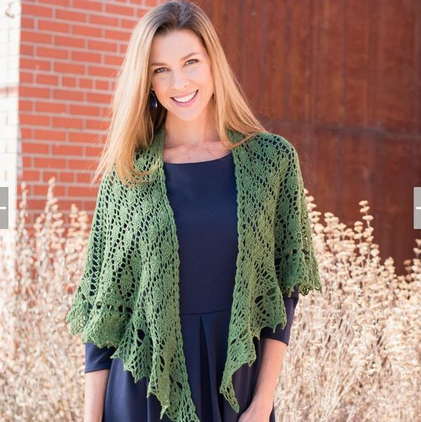 Green Free Knitting Crochet Woman Pattern