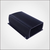 Manufacturer custom extruded aluminum heatsink housing/box with black anodized