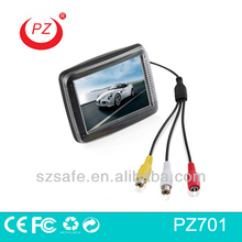 hot selling digital lcd car monitor with CE and FCC approved