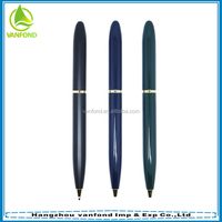 Suitable for hotel use twist metal pen without clip