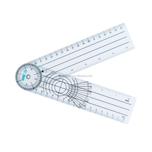 promotional price types of medical plastic pvc contact angle ruler goniometer