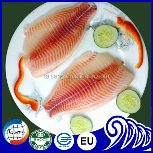 High Quality Chilled Tilapia Type of Frozen Fish Fillets