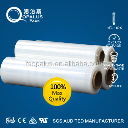 Machine Stretch Wrap Lldpe Palstic Film (ISO9001:2008)