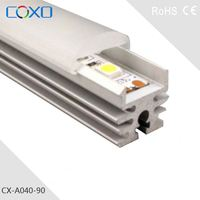 Top selling LED aluminum alloy profile mounting for led strip light/produced in China/with PMMA clear cover