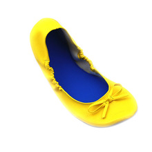 Women's Easy-Take Cheap Fold Up Ballerina Shoes