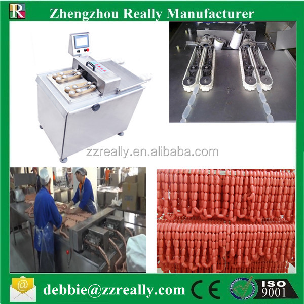 Electric Double Clipping Machine|Sausage sealing machine|sausage aluminium wire tie machine
