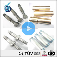 Custom accurate metal parts cnc machining stainless steel shaft parts