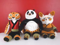 Kung Fu Panda Plush Set of 3 Shifu Po Tigress
