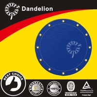 mildew proof tear defiant rope reinforced round tarp