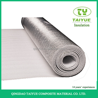 Heat resistant aluminum epe foam radiant heat shields thermal foil insulation