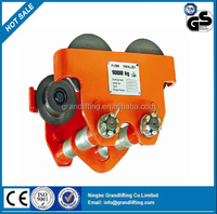 Chinese factory directly sale Plain Trolley/Hoist Manual Trolley