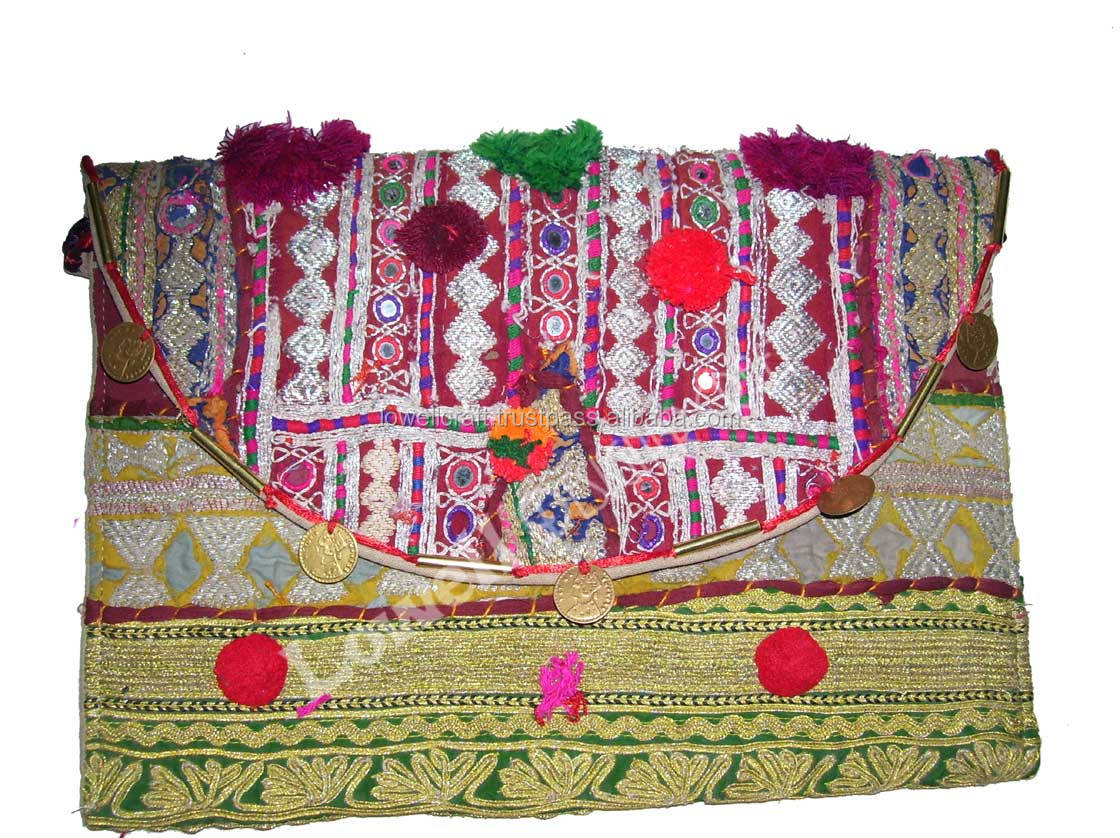 ETHNIC BANJARA CLUTCH BAG PURSE FOR TAB