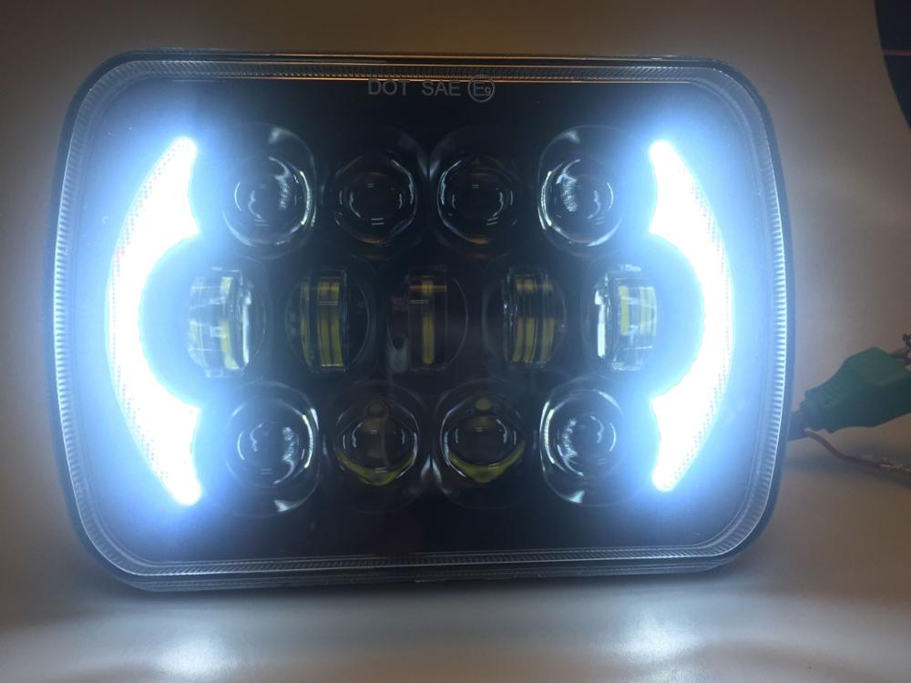 Loyo Hot Selling LED Truck Light 105W/85W 5x7 LED Headlights Pair