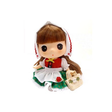custom made plastic collectible korean dolls