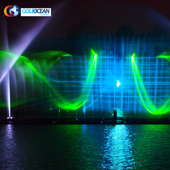 CE and ISO Certified Water Screen Movie Projection