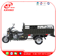 Air Cooling 200CC Heavy Duty Five Wheel Motorcycle Cargo Tricycle for Sale