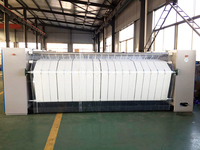 Top sale 2500mm 2800mm 3000mm double-roller flatwork ironer machine for dyeing and finishing industry for laundry linen