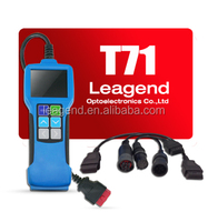 OBDII Heavy truck and bus diagnostic tool T71 with 2.8