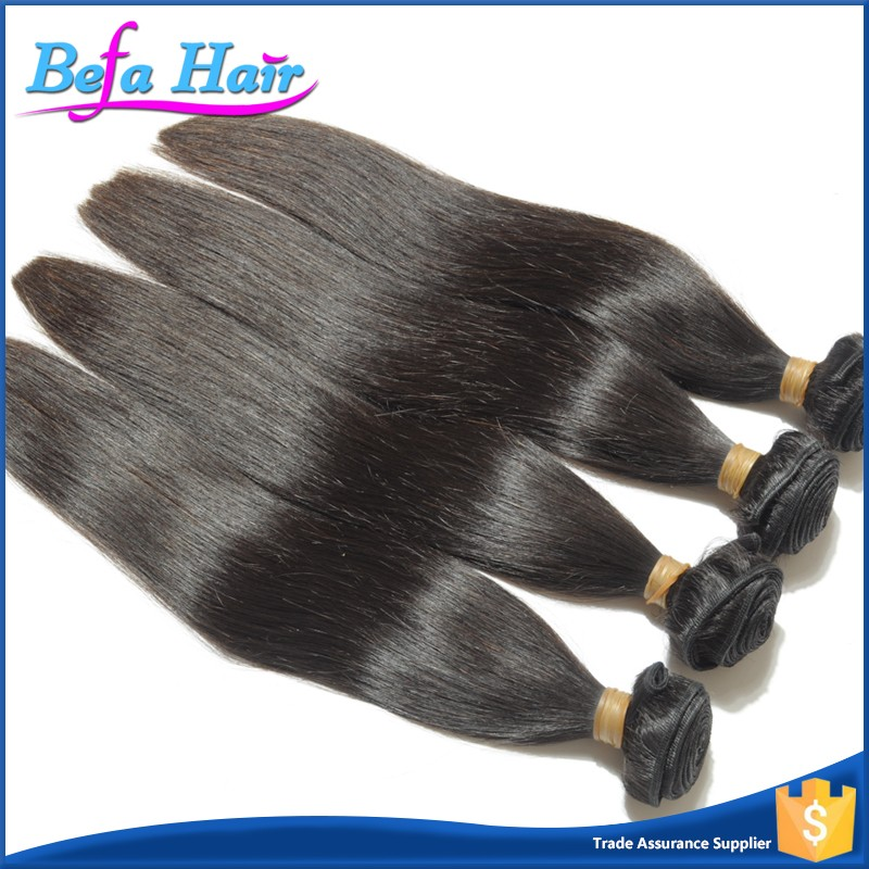 Befa Hair Tight & Soft Top Grade Straight Malaysian Virgin Human Hair Weave Extensions
