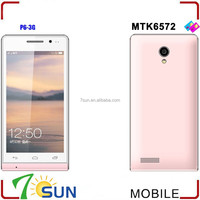 P6 Unlocked 4.7 Inch Android 4.2 MTK 6572 Dual Core 3G Smart Cell Phone Wifi 4.7inch android smart phone