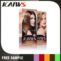 longlast effect Hanna hair dye with low irritation and no carcinogice ingredients
