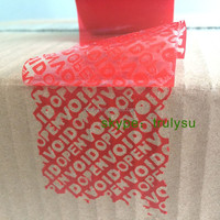 PET Waterproof Adhesive Security VOID OPENVOID Tape