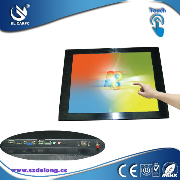"2013 New Product 1080HD Screen 23"" Industrial Panel AIO Computer Without Touch Embedded KIOSK"
