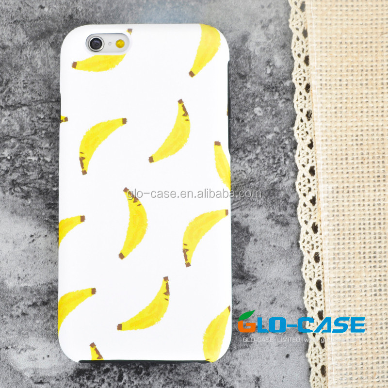 Custom Full Protective PC Silicone Case for iPhone 6 , for iPhone 6 Dual Case