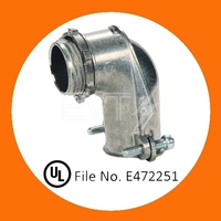 Zinc Squeeze Connector Angle Type 90 degree electrical ltc Connector for