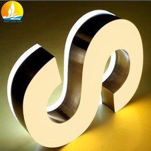 3d sign letters 2017 New design led outdoor signage professional acrylic led sign