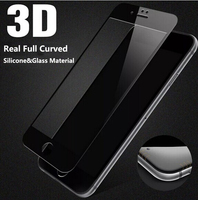 Full Curved 3D Touch Soft Tempered Glass Screen Protector for iPhone 6/6s
