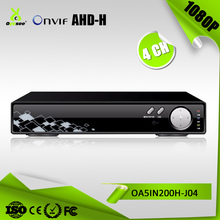 4CH 1080P AHD TVI CVI CVBS Network 5in1 Hybrid Digital Video Record P2P 4ch dvr