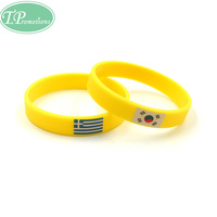 Cheap Silicone Rubber Wristband With Custom