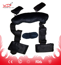 new hot bdsm sex toys sm handcuffs wholesale female and male sex toy Adult Game Erotic Toy Leather Bed Bondage SM Strap fetish