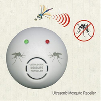 Indoor Electronic Pest Mouse Bug Reject Control Ultrasonic Mosquito Repellent with EU Plug