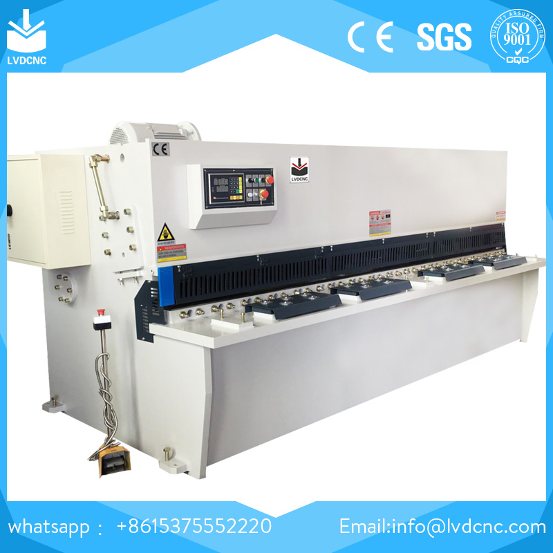 QC12K cnc hydraulic 8mm swing beam shear machine, iron cutting machinery industry, steel cutting machine price