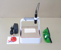 usb mini diy 300mw laser engraving machine for rubber/seal