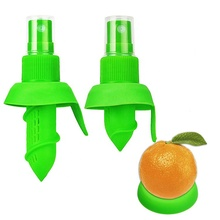 Fresh <strong>Fruit</strong> Juice Serving Tools 3pcs Juicer Squeezer Set Manual Lemon Citrus Sprayer With Easy Spray <strong>Nozzle</strong> Plug