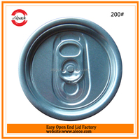 Canned carbonated drinks can top