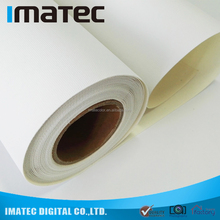 Water Resistant Matte Inkjet Printing Poly Cotton Canvas Fabric Rolls for Pigment ink/ Dye ink 320gsm 360gsm 420gsm